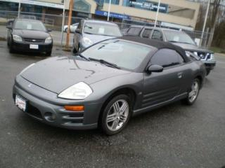 Used 2004 Mitsubishi Eclipse GT, Spyder for sale in Surrey, BC