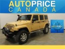 Used 2013 Jeep Wrangler Unlimited Sahara NAVIGATION LEATHER for sale in Mississauga, ON