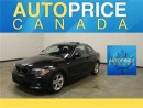 Used 2012 BMW 1 Series XENON MOONROOF LEATHR PREMIUM for sale in Mississauga, ON