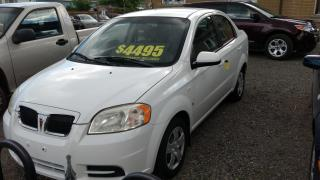 Used 2007 Pontiac Wave LOW K's Very Clean for sale in St Catharines, ON