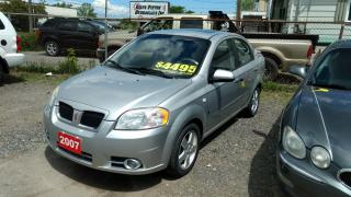 Used 2007 Pontiac Wave SE for sale in St Catharines, ON