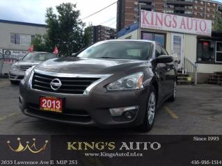 Used 2013 Nissan Altima 2.5, TRACTION, CRUISE, BLUETOOTH, FOG LAMPS for sale in Scarborough, ON