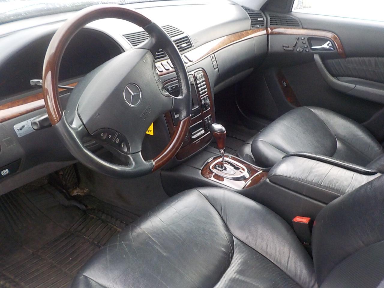 1999 Mercedes-Benz S500