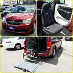 Used 2011 Dodge Grand Caravan SXT Equipped with Mobility Lift and Seat for sale in Ottawa, ON