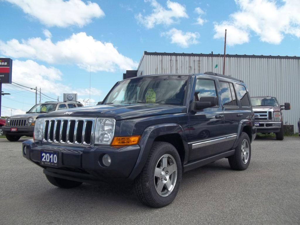 used 2010 jeep commander sport for sale in orillia ontario. Black Bedroom Furniture Sets. Home Design Ideas