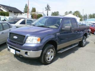 Used 2006 Ford F-150 XLT, SUPERCAB, 4X4, for sale in Surrey, BC