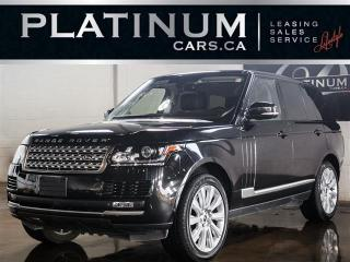 Used 2013 Land Rover Range Rover SUPERCHARGED, NAVI, DVD ENTERTAINMENT, PANO ROOF for sale in North York, ON