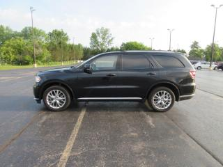 Used 2016 Dodge DURANGO LIMITED AWD for sale in Cayuga, ON