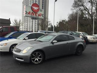 Used 2006 Infiniti G35 Coupe for sale in Cambridge, ON