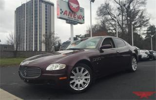 Used 2007 Maserati Quattroporte for sale in Cambridge, ON