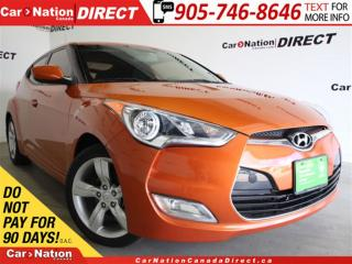 Used 2013 Hyundai Veloster | BACK UP CAMERA & SENSORS| PUSH START| for sale in Burlington, ON