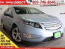 Used 2013 Chevrolet Volt Electric | HYBRID| LOW KM'S| LEATHER| BACK UP CAMERA| for sale in Burlington, ON