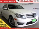 Used 2013 Mercedes-Benz C-Class C 300 4MATIC| LEATHER| SUNROOF| LOCAL TRADE| for sale in Burlington, ON