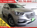 Used 2017 Hyundai Santa Fe Sport 2.4 SE| AWD| LEATHER| PANO ROOF| for sale in Burlington, ON