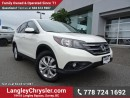 Used 2013 Honda CR-V EX-L LOW KMS W/ LEATHER UPHOLSTERY & SUNROOF for sale in Surrey, BC
