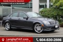 Used 2011 Mercedes-Benz C-Class B.C OWNED LEATHER SUNROOF for sale in Surrey, BC