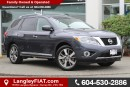 Used 2014 Nissan Pathfinder Platinum B.C OWNED, LOW KM'S for sale in Surrey, BC