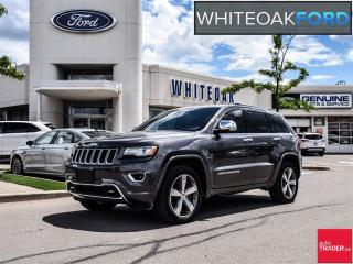 Used 2015 Jeep Grand Cherokee Overland, DIESEL, NAVI, LEATHER for sale in Mississauga, ON