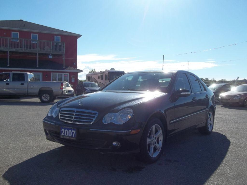 Used 2007 mercedes benz c230 2 5l for sale in orillia for Mercedes benz 2007 c230