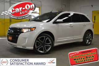 Used 2014 Ford Edge SPORT AWD LEATHER NAVI PANO ROOF NAV REMOTE START for sale in Ottawa, ON