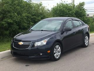 Used 2014 Chevrolet Cruze 2LS **ACCIDENT FREE** for sale in Brampton, ON