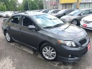 Used 2010 Toyota Corolla S/AUTO/PWR ROOF/LOADEDALLOYS/SPOILER/CLEAN for sale in Scarborough, ON