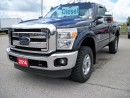 Used 2014 Ford F-350 XLT FX4 4x4 DIESEL for sale in Stratford, ON