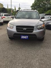 Used 2007 Hyundai Santa Fe PRE-OWNED CERTIFED- AFFORDABLE IMPORT SUV LOW KM for sale in Scarborough, ON