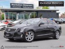 Used 2013 Cadillac ATS PERFORMANCE PKG |NAV|CAMERA|PHONE|RED INT|ROOF for sale in Scarborough, ON