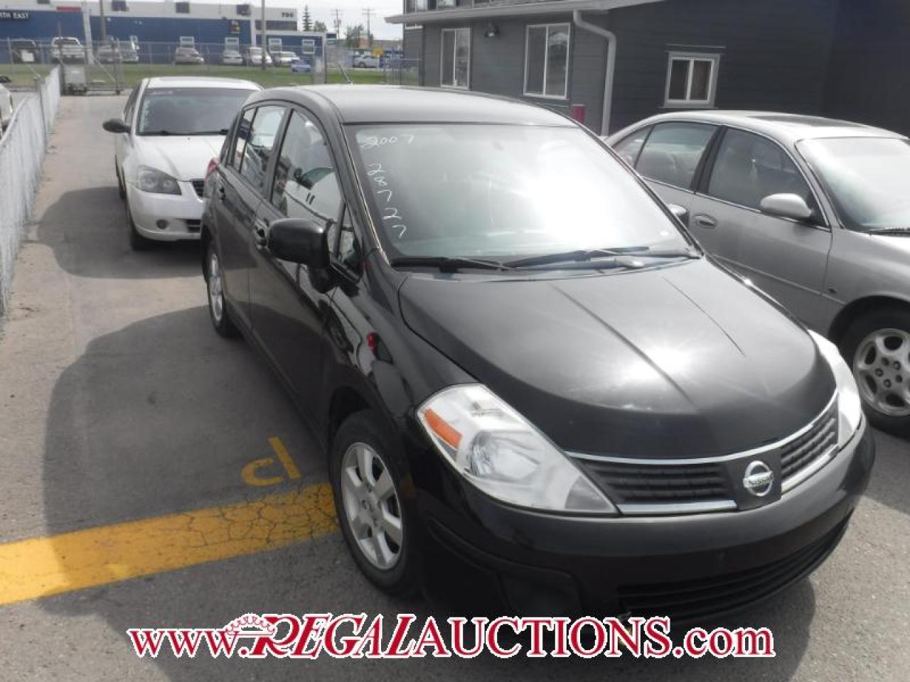 Photo of Black 2007 Nissan VERSA  4D HATCHBACK