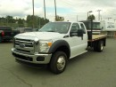 Used 2013 Ford F-550 SuperCab 11.5 Foot Flatdeck Dually 4WD for sale in Burnaby, BC