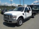 Used 2010 Ford F-350 SD Crew Cab 9 Foot Flatdeck 4WD for sale in Burnaby, BC
