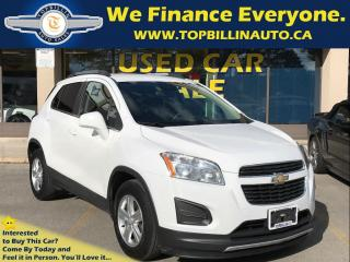 Used 2014 Chevrolet Trax LT with BLUETOOTH, 2 YEARS WARRANTY for sale in Concord, ON