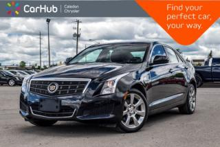 Used 2014 Cadillac ATS Sedan AWD Backup Cam Bluetooth Leather Heated Front Seats Keyless Go 17