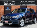 Used 2011 BMW X3 xDrive35i+Navigation+Heads up+Xenon+Pano roof for sale in North York, ON