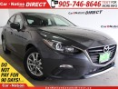 Used 2014 Mazda MAZDA3 Sport GS-SKY| BACK UP CAMERA| PUSH START| for sale in Burlington, ON