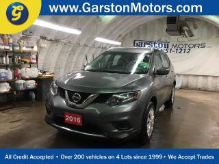 Used 2016 Nissan Rogue S*AWD*BLUETOOTH PHONE/AUDIO*POWER HEATED MIRRORS*ECO MODE*HILL ASSIST*AWD LOCK*CD/MP3 W/USB INPUT*KEYLESS ENTRY*POWER WINDOWS/LOCKS* for sale in Cambridge, ON