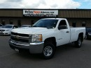 Used 2009 Chevrolet Silverado 2500HD WT REGULAR CAB for sale in Gloucester, ON