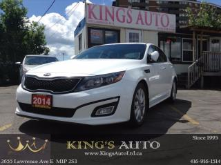 Used 2014 Kia Optima EX, BACK-UP CAM, LEATHER, HEATED SEATS for sale in Scarborough, ON