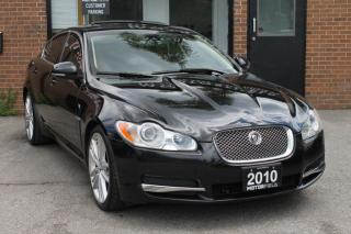 Used 2010 Jaguar XF Premium Luxury Portfolio *NO ACCIDENTS, CERTIFIED for sale in Scarborough, ON
