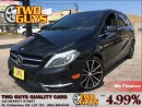 Used 2013 Mercedes-Benz B-Class PREMIUM/SPORT/MEMORY PACKAGES for sale in St Catharines, ON