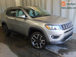 Used 2017 Jeep New Compass Limited 4x4 / Full Sunroof / Rear Back Up Camera / Heated Front Seats / Heated Steering Wheel for sale in Edmonton, AB