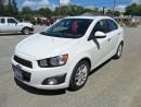 Used 2014 Chevrolet Sonic LT / SUN ROOF for sale in Beaverton, ON