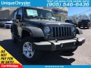 Used 2017 Jeep Wrangler Sport | NEW VEHICLE | OPEN SUNDAYS | for sale in Burlington, ON