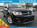 Used 2017 Dodge Journey SXT | WE WANT YOUR TRADE | OPEN SUNDAYS | for sale in Burlington, ON