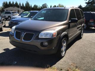 Used 2008 Pontiac Montana SV6, DVD System, Loaded, New Bodystyle for sale in Surrey, BC