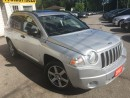 Used 2007 Jeep Compass LIMITED/4WD/AYTO/LEATHER/ROOF/LOADED/ALLOYS for sale in Scarborough, ON