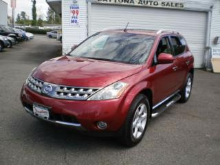 Used 2007 Nissan Murano SL, leather, sunroof, service history, for sale in Surrey, BC