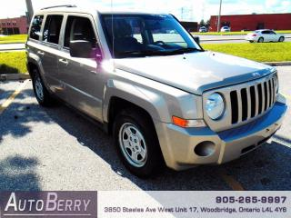 Used 2010 Jeep Patriot Sport - North Edition - FWD for sale in Woodbridge, ON