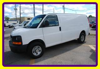 Used 2011 Chevrolet Express 2500 3/4 TON CARGO BACK WIND.ONLY, DIGITAL TR.HITCH for sale in Woodbridge, ON